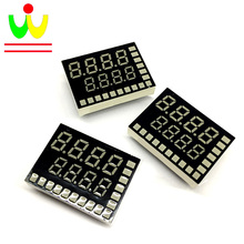 Made in China Hot type dual color 7 segment led Oven meter display