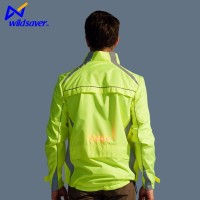 LED embroidered new design flashing warning jacket latest made in China
