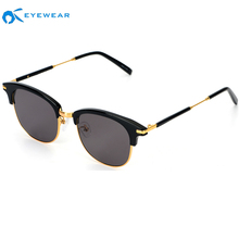 Latest Unisex Fashion CE Cat Eye Dropshipping Acetate Frame Italy Design Private Label UV400 Sun Glasses Sunglasses