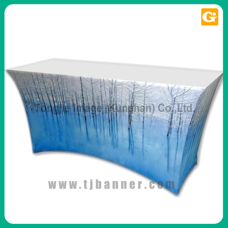 Custom promotion table cloth tablecloth for sales