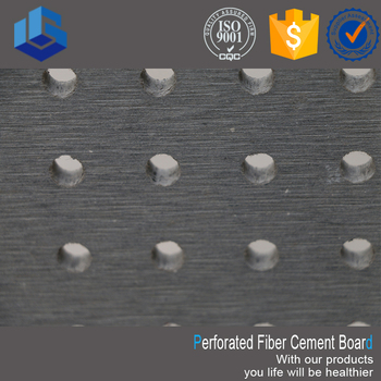 Perforated Fiber Cement Board Low Price