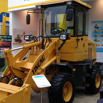 New condition 1.0 ton small wheel loader mini front end loader for sale