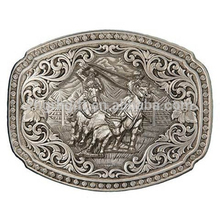 Hot Sale Fashion Zinc Alloy Western Cowboy Bulk Belt Buckle