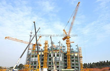 hot sale luffing tower crane DB120L-3 with ISO