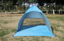 Outdoor Camping Tent Single Layer Family Travel Hiking Automatic Pop-up Shelter Play Tent