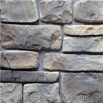 BOAO Latest Artificial Faux Building Materials Stone for Interior Decoration