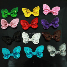 Sequin BowKnot Handmade DIY for baby and girls Hair Accessory