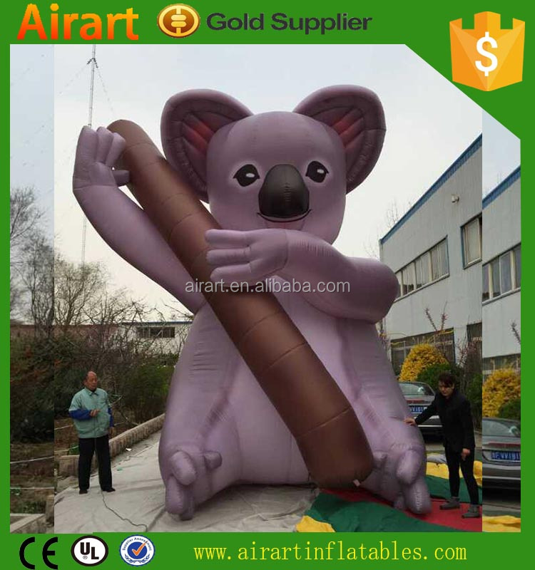 giant inflatable raccoon mascots customized shape