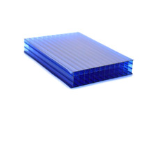 4 Layers Polycarbonate/PC Hollow Sheet/Panel Plastic Sheet Virgin Materials