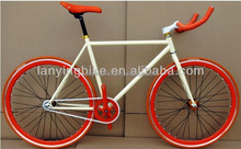 Good quality steel frame fixed gear bike bicycle/aluminum rims bicycle fixed gear