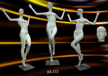 Dancing/sports mannequin full body Female mannequins/dummy/model.Factory/Wholesale.