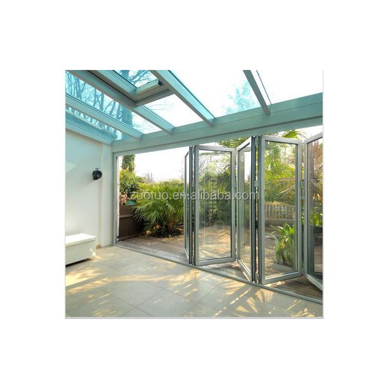 aluminium gro e mit glas faltschiebet r t r aluminium. Black Bedroom Furniture Sets. Home Design Ideas