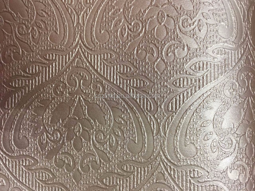 champion parisian soft embossed damask vinyl upholstery fabric, pvc upholstery leather
