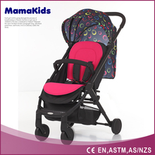 Super lightweight colorful baby buggy,stroller,parm,carrier with EN1888certification