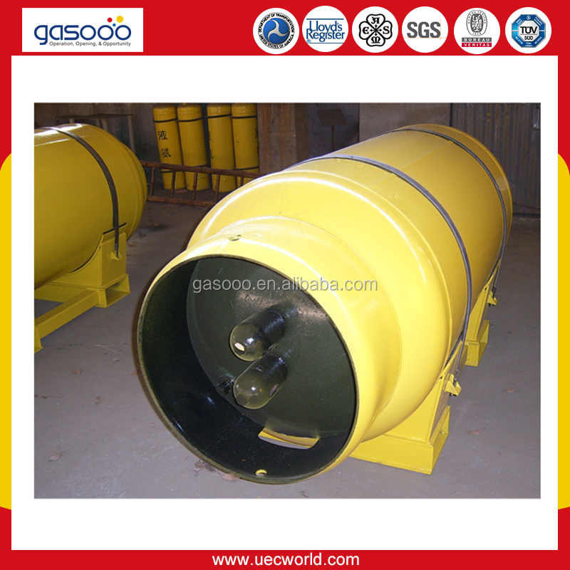 100L to 800L Liquid Chlorine Cylinder for Liquefied Gas
