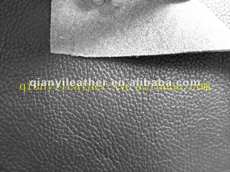 2012 2012 New Fashional Big grain Microfiber leather for chair ( guarantee for 5 years)