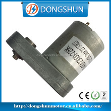 DS-65SS3540 12v dc electric motor low rpm with strong metal gearbox