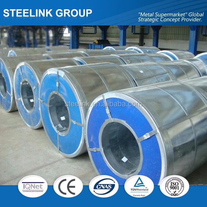 Galvalume Steel Coil (G350+AZ, G550+AZ, etc, ) 0.16-2.0mm thickness,cold rolled prepainted color coated t ga roofing material