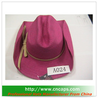 cheap straw cowboy hats for promotion
