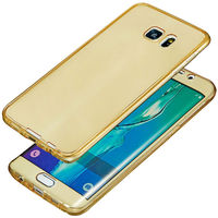 360 Protective Clear Soft Shockproof Gel Case For Samsung Galaxy S7 Edge