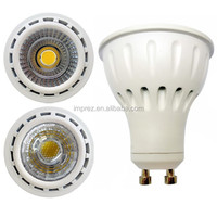2014 New Design GU10 reflector COB LED 8W free standing spotlight