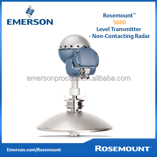 Emerson Rosemount 5600 Non-contact Radar Level Sensor