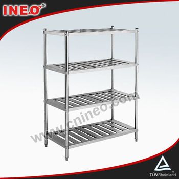 Commercial Kitchen Cold Room Stainless Steel Kitchen Cabinet Dish Rack/Kitchen Utensil Rack Price/Kitchen Vegetable Storage Rack