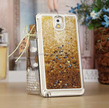 Hot selling Liquid Glitter Star hard case for Samsung Galaxy Note 3, Moving case for Galaxy Note 3