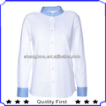 Contrast color Casual Shirts Designs Factory Wholesale Shirts Oxford Shirts For Women