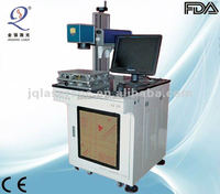 CNC fiber laser marking jewelry machine