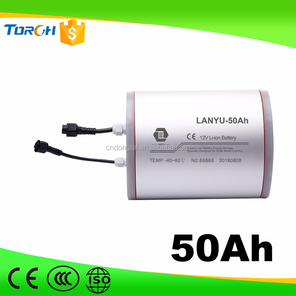 Cheap 12v 50ah new style li ion battery pack from Dongtai