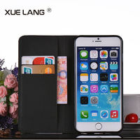 Pu leather case cover for iphone 6 plus , wholesale Pu leather case cover for iphone 6 plus