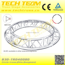 290*290mm lighting truss aluminum circle triangle truss/circle truss for sale