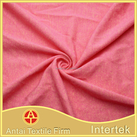 New design soft knitted polyester rayon spandex single jersey fabric for shirt