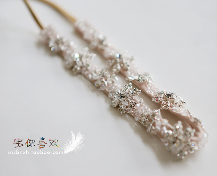 2015 chic charming diamond headband muslim headwear