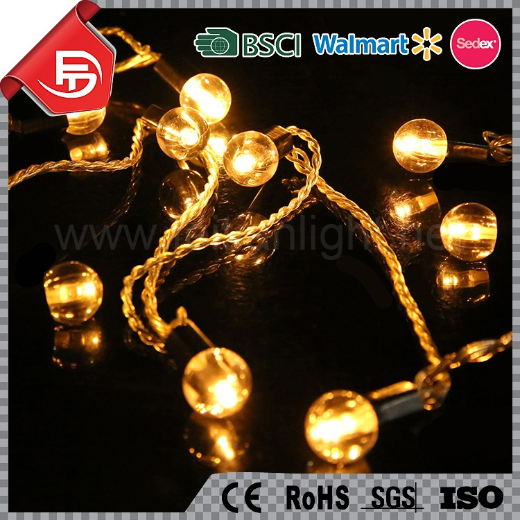 Eco-friendly pearl christmas lights