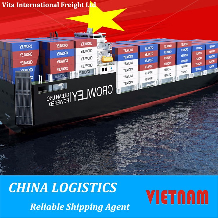 international container ocean freight shipping to vietnam