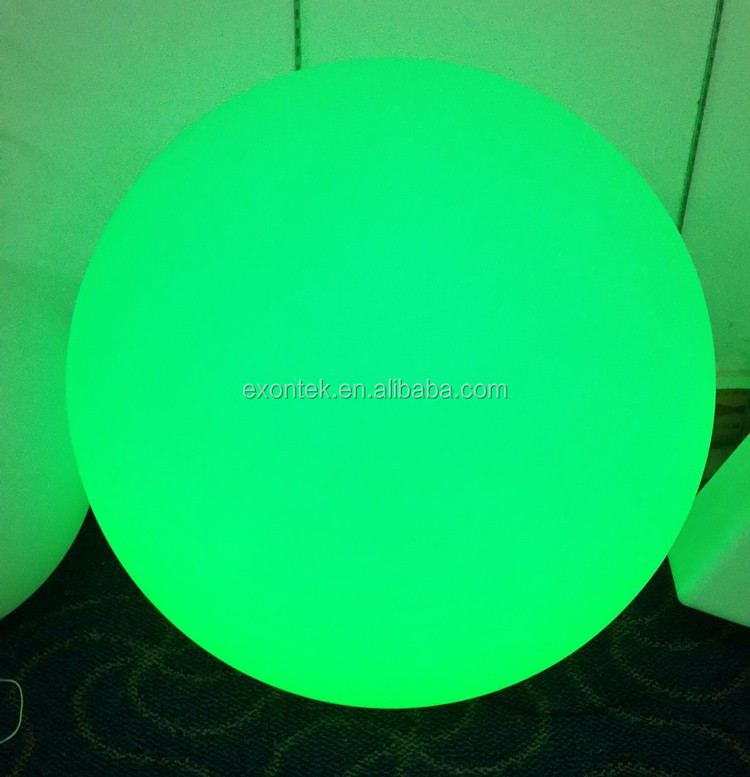 2017 the most popular decorative led glow swimming pool ball waterproof floating lights 60CM Best products for import