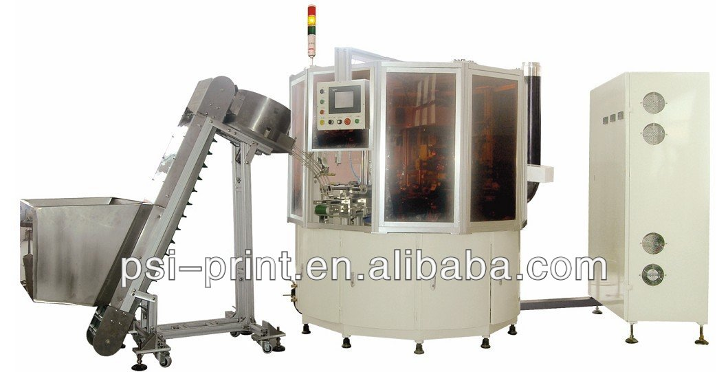 automatic six color screen printing machine S3-6T