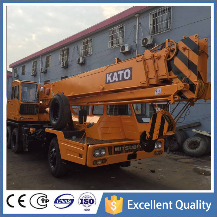 Kato Lifting 25 Ton Mitsubishi Engine , Second Hand Japanese Crane