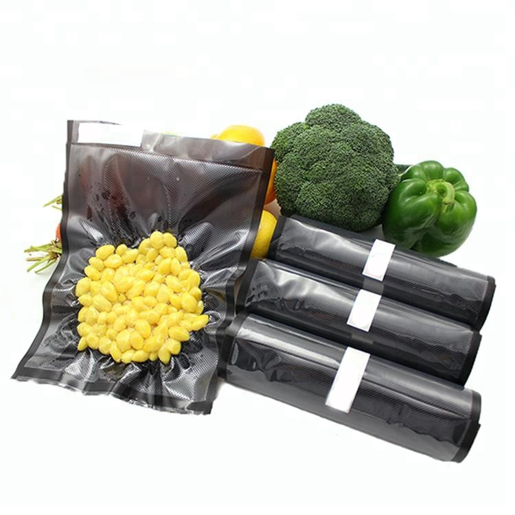 Commercial Grade Black PA <strong>PE</strong> Embossed Seal Storage Vacuum Bags