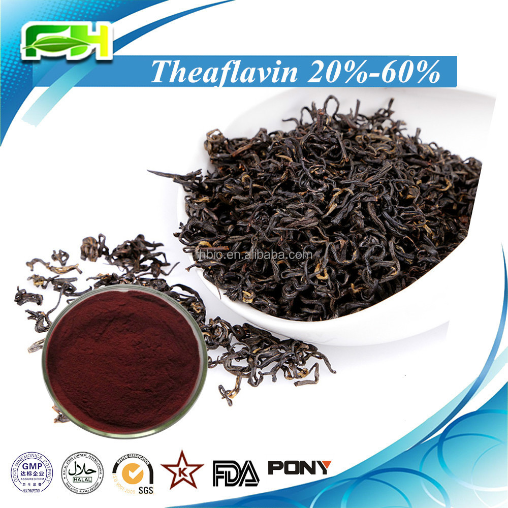 100% Natural Black Tea Extract Theaflavin