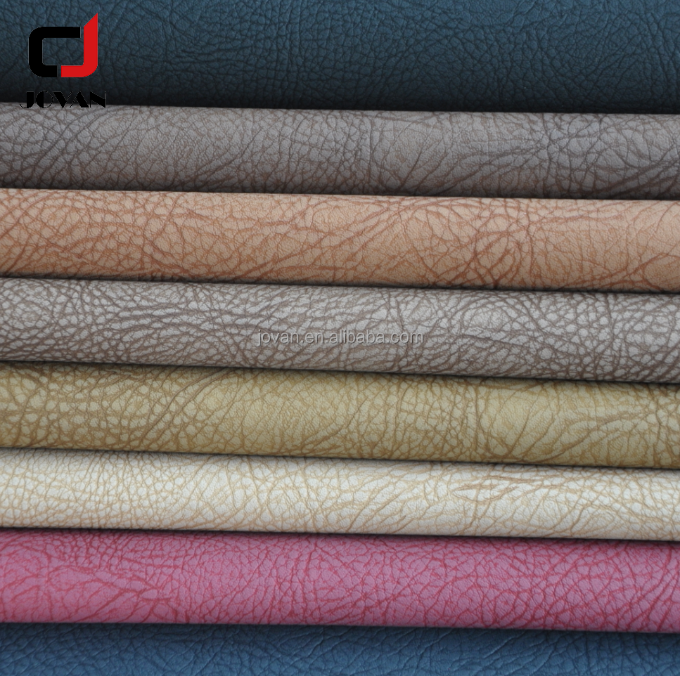 promotion Woven Pattern Metallic PU Material Leather Fabric For Making Bags