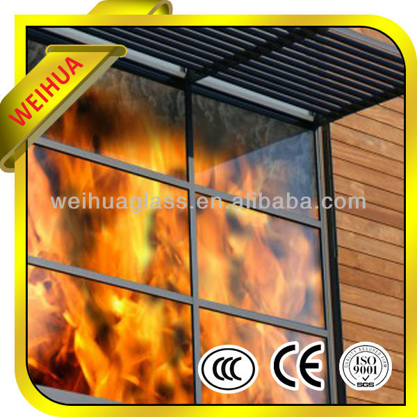 anti fire glass for entrance doors and windows