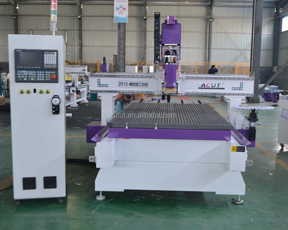CNC ROUTER MACHINE ATC-1325/1300*2500*380mm/automatic tool change/woodworking machine/engraver/router/8 tools