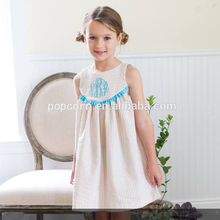 Exquisite smocked latest kids party wear dresses kids frock designs pari dress for baby girl