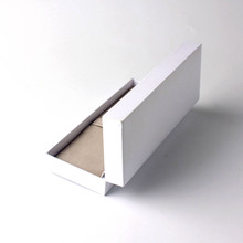 Simple design plain white watch gife boxes
