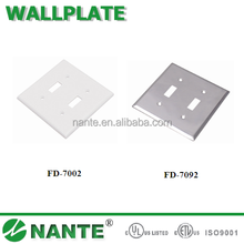 American Type Wall Socket Wallplate with UL Approval, Toggle Switch Cover