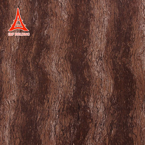 Wear resistance textured brown polished floor tiles building materials flooring ceramic 600x600