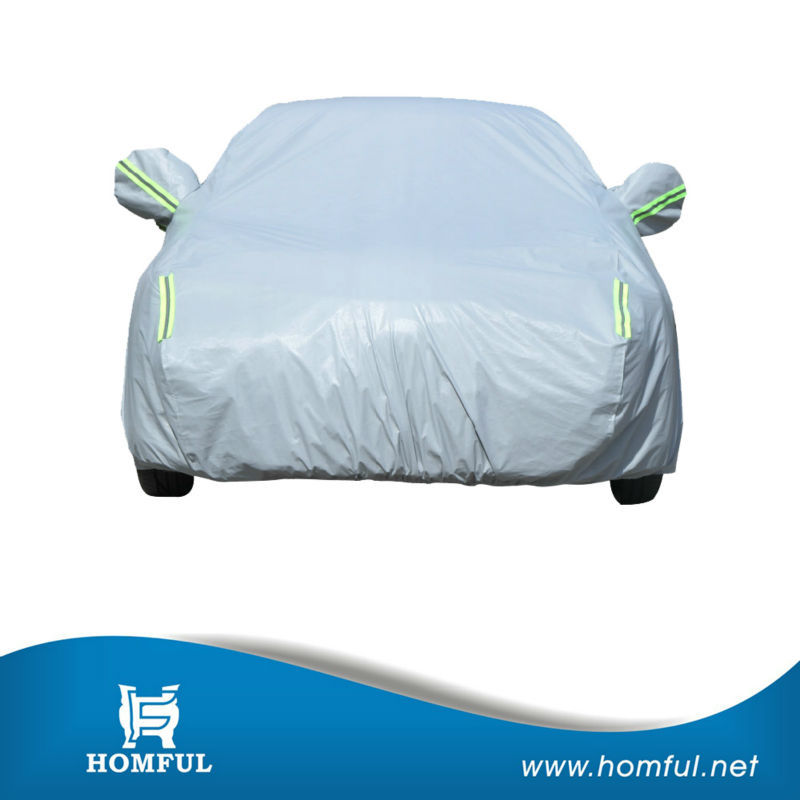 sun car cover plastic protective cover for car automobile car cover